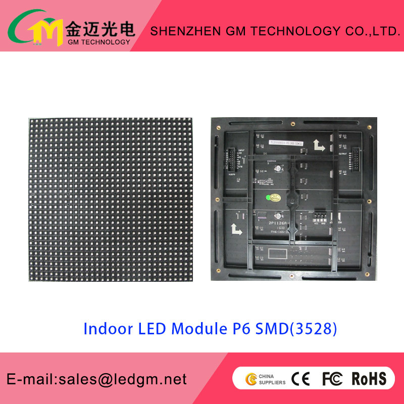 Wholesale Price P6 Indoor LED Module, 192*192mm, USD9.5