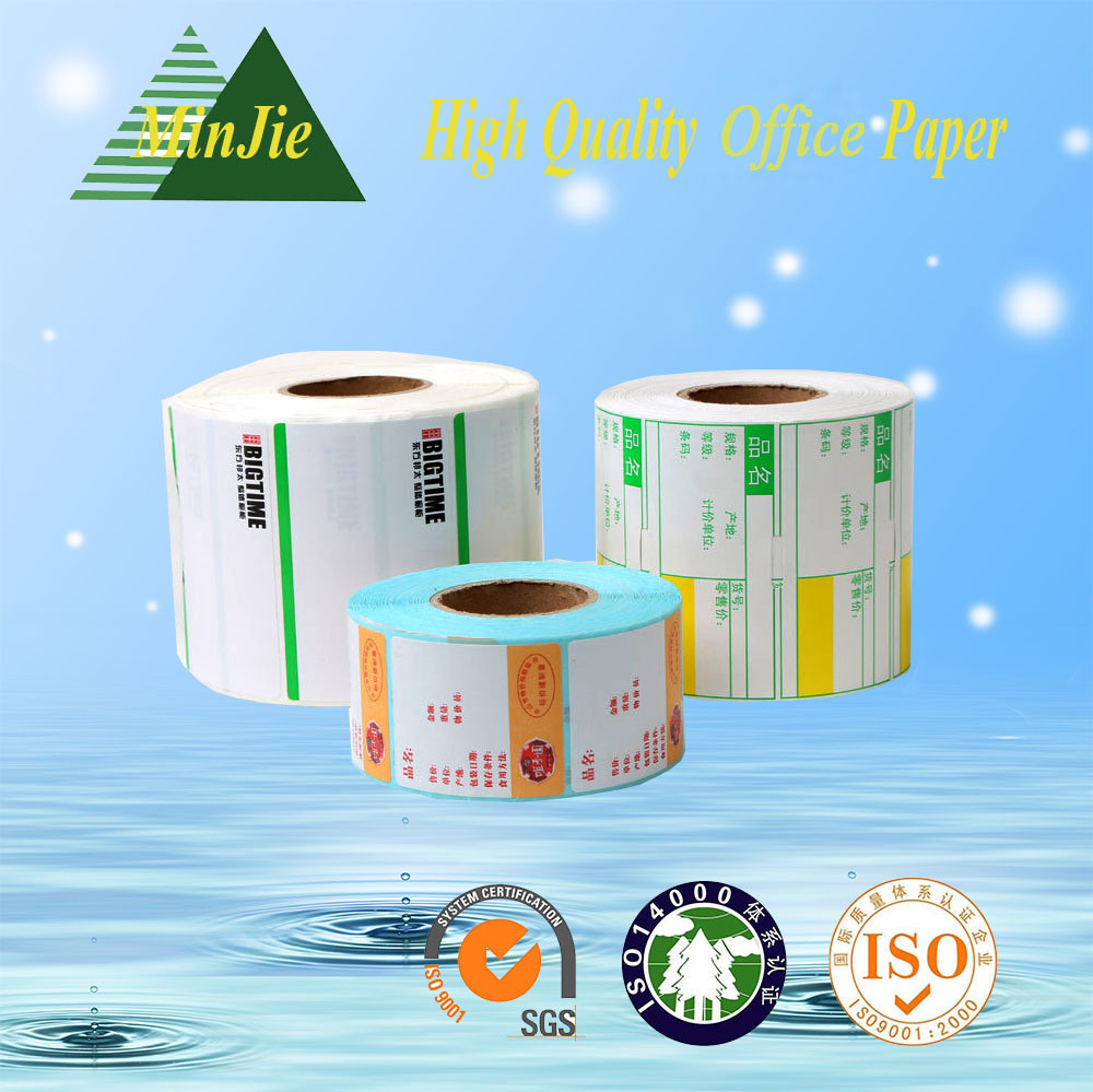 Self Adhesive Sticker Type and Shipping Labels Usage Temperature Labels