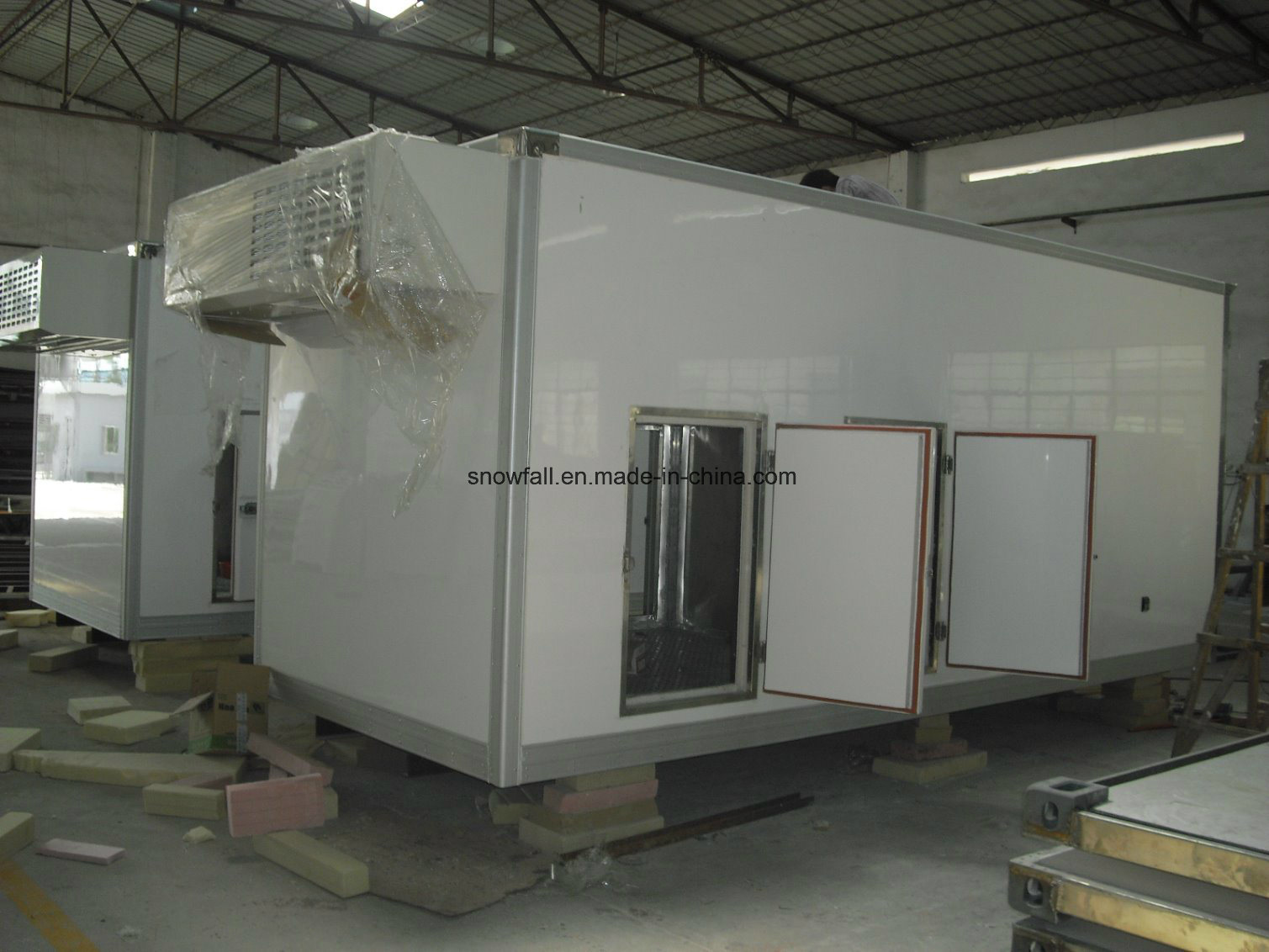 Eutectic Plate Ice Cream Truck Body