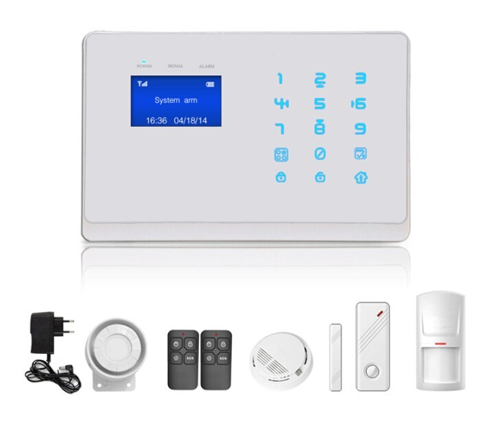 New GSM Anti-Shoplifting Security Alarm System with Capacitive Touch Keypad Design.