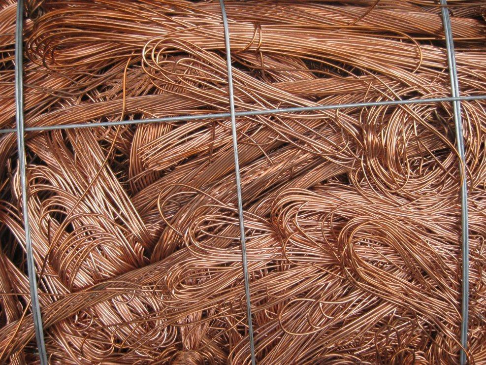 Supply Scrap Copper Wire Scrap 99.99%