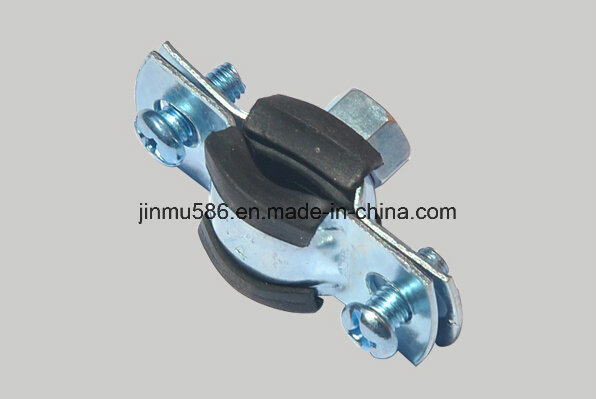 Pipe Clamps with PVC Rubber