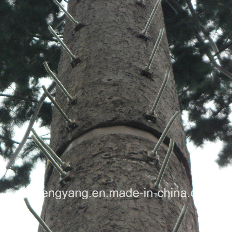 Pine Tree Tower Camouflaged Tree Tower Steel Monopole Antenna Tower