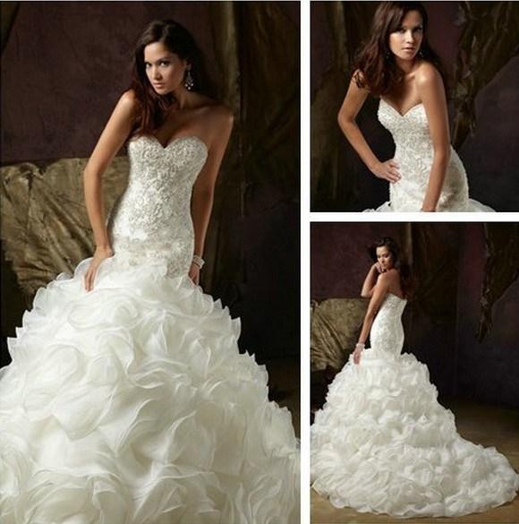 البوم صور فساتين زفاف wedding dress 2014