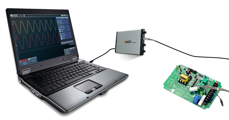 OWON 100MHz 1GS/s Dual-Channel PC Oscilloscope (VDS3102)