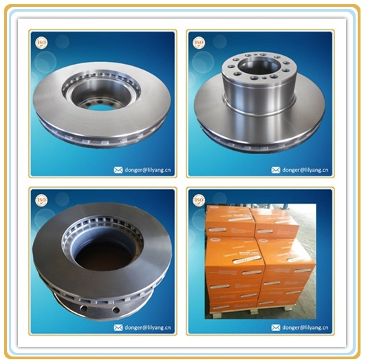 Grey Iron Casting for Truck Brake Rotor, Truck Brake Disc