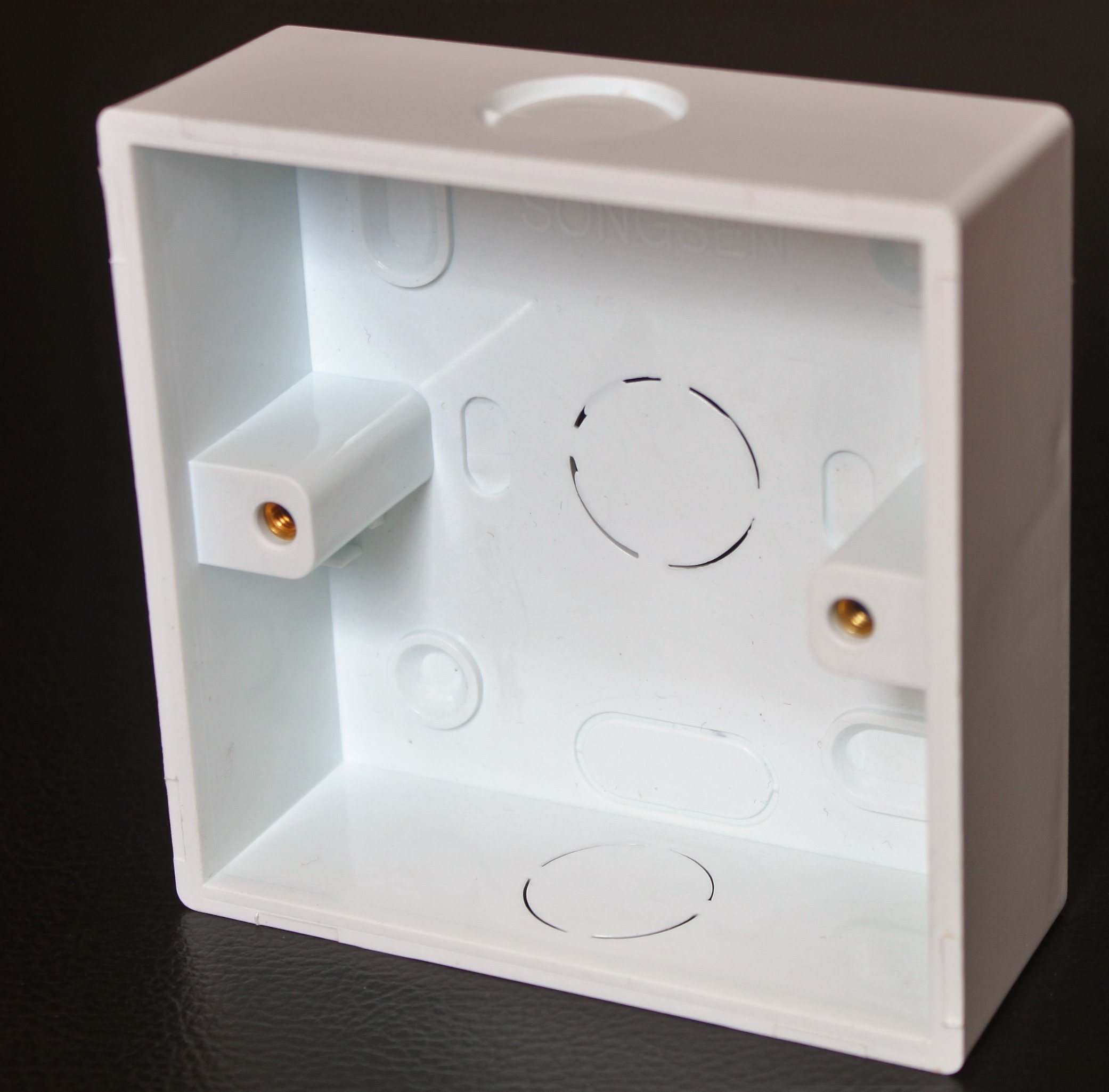 PVC Wall Mounted Box with Knockouts