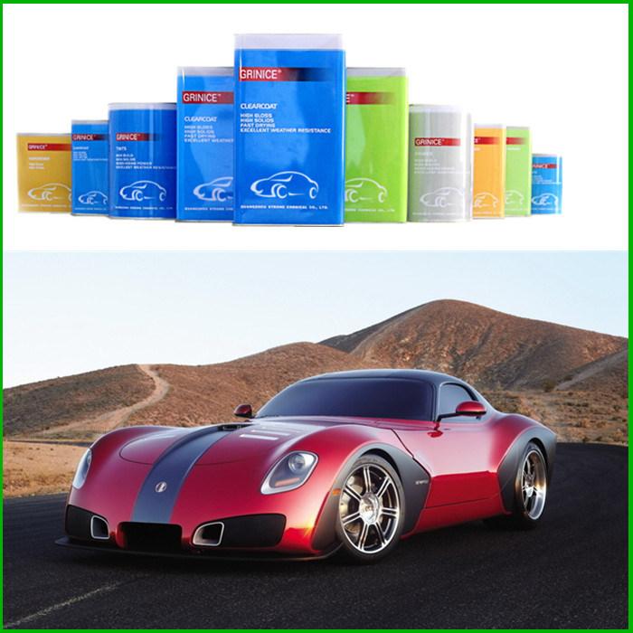 UNIC car paint/auto paint - Guangzhou Strong Chemical Co., Ltd ...
