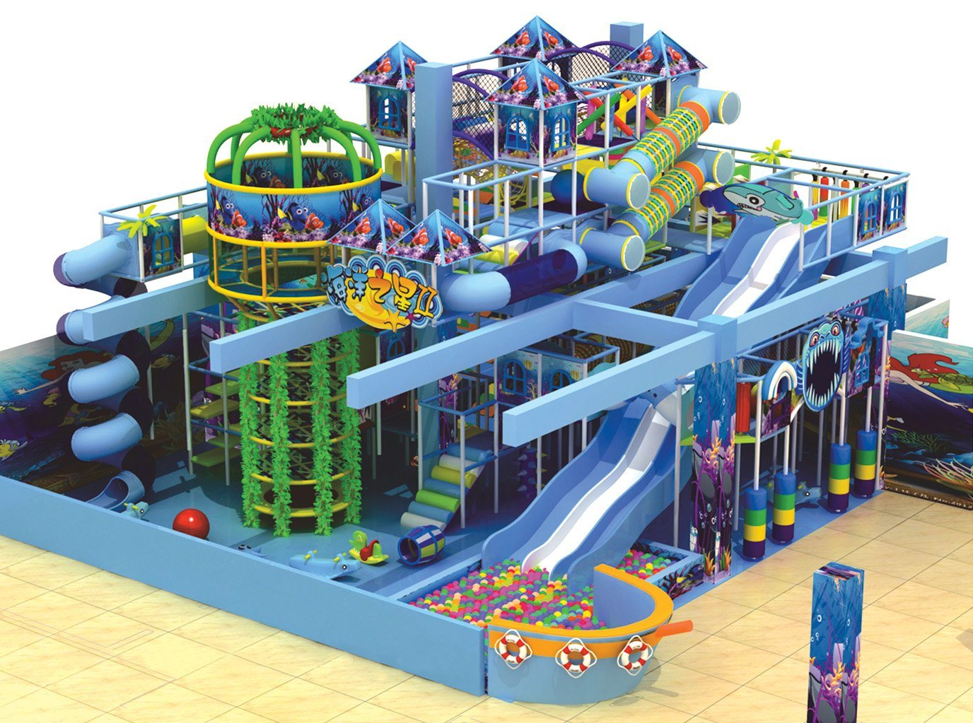 Indoor Amusement Park Playground Equipment (TY-7T1901)