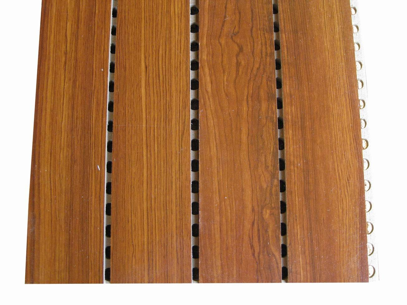 El panel ac stico de madera yzw 014 el panel ac stico for Panel perforado madera