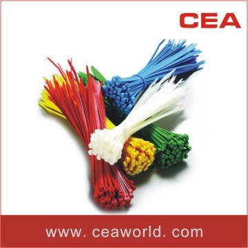 Self-Locking Nylon Cable Ties with Colors