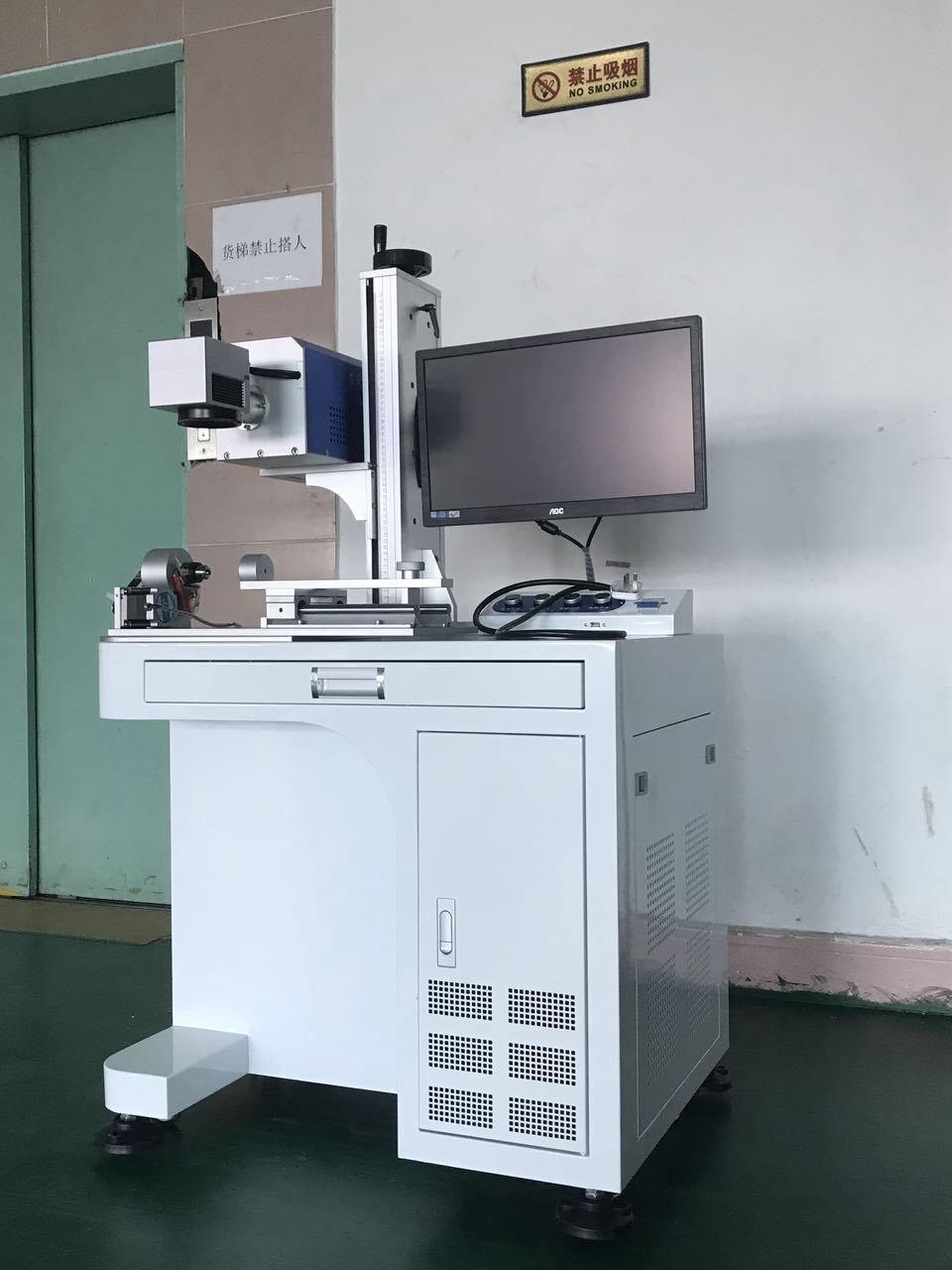 Cable, Wire and Pipe Marking Laser Marking Engraving Machine