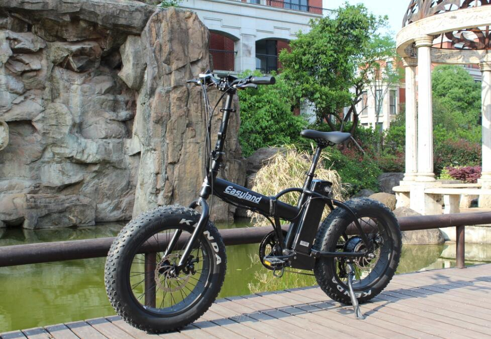 20 Inch Electric Folding Bike with Lithium Battery