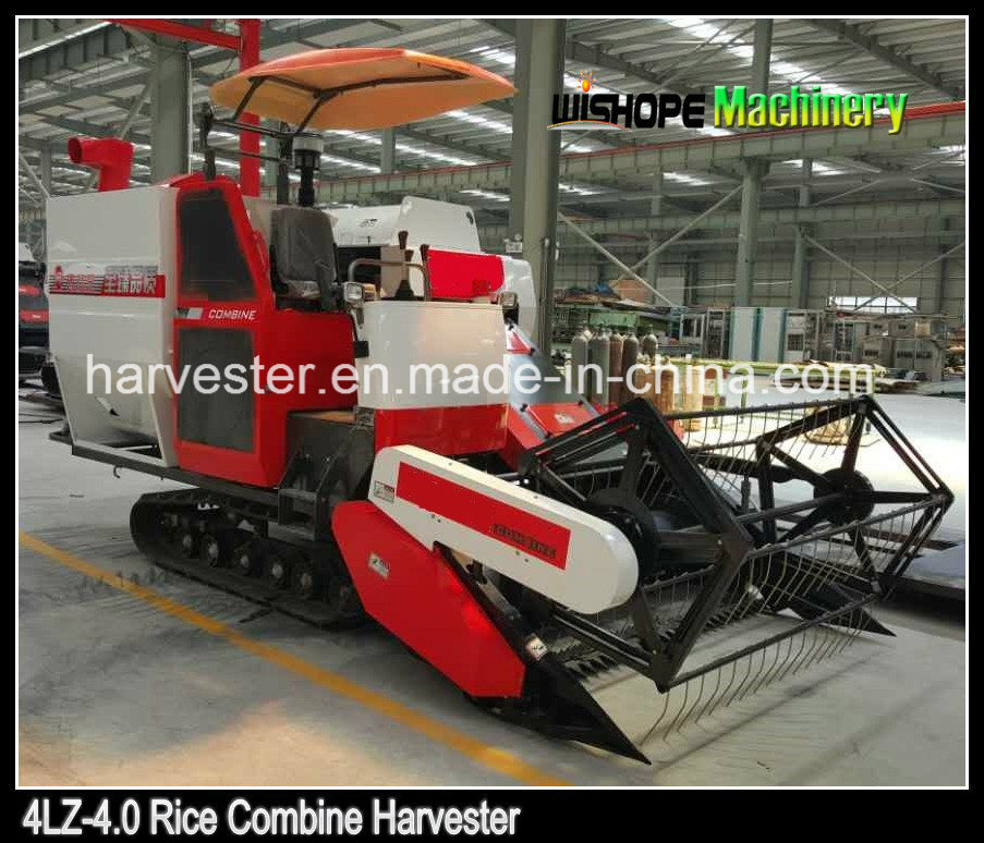 73kw Power Agricultural Combine Harvesting Machine