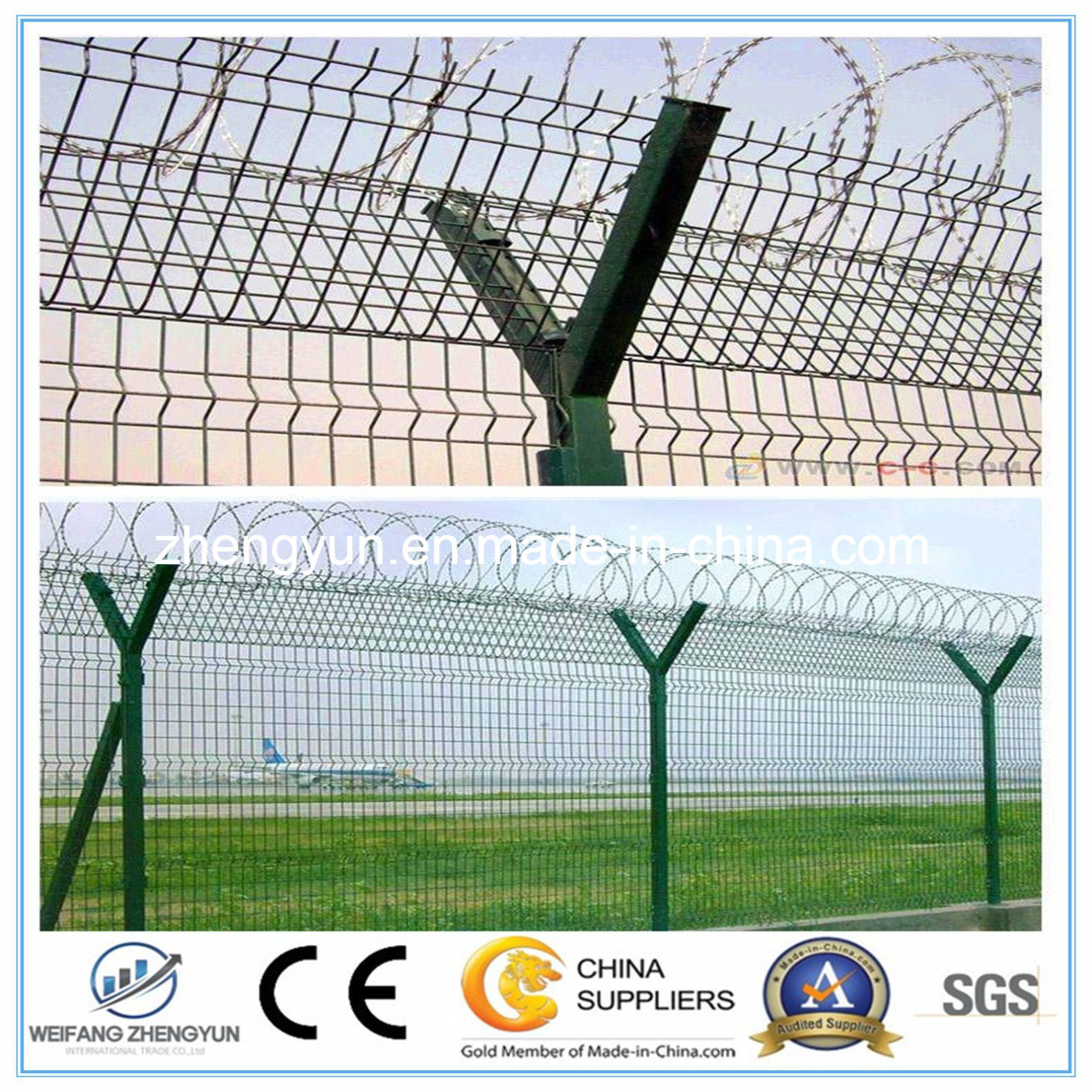 Wholesale High Quality 358 Airport Security Fence