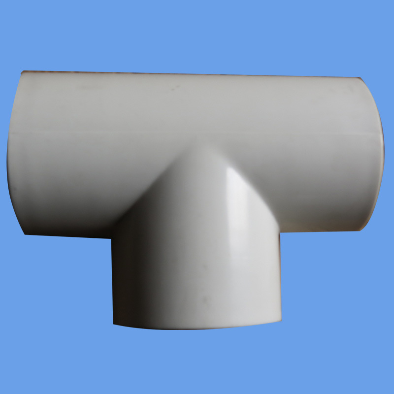 ISO4422 and AS/NZS1477 PVC Euqal Tee for Pressure Pipe