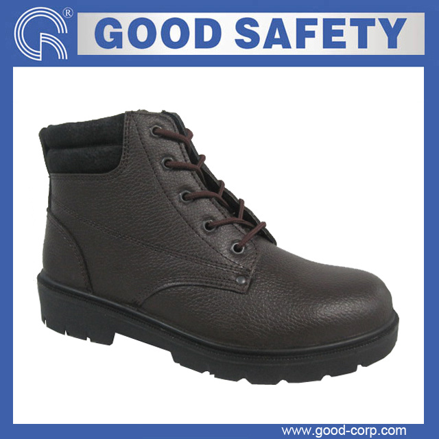 images of Industrial Safety Shoes with Leather Lining (GSI-663