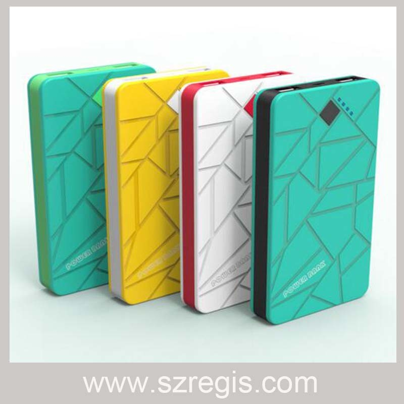 New Polymer Ultra-Thin 8000 mAh Battery Charger Mobile Power