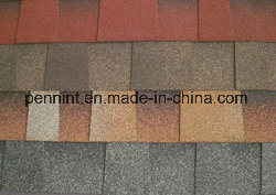 Building Materials Colorful Asphalt Shingles for Concrete Roof