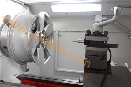 Diamond Cut Alloy Wheel Repair CNC Lathe Machine