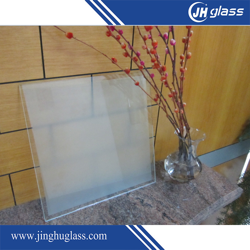 3-19mm Clear Flat Tempered/Toughened/Silk Screen/Acid Etch/Frosted Glass for Building