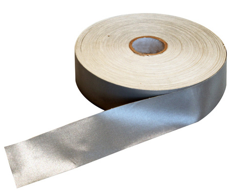 Silver Flame Retardant Reflective Tape