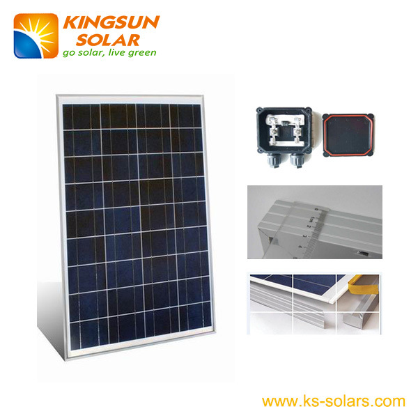 40W Poly-Crystalline Solar Panel