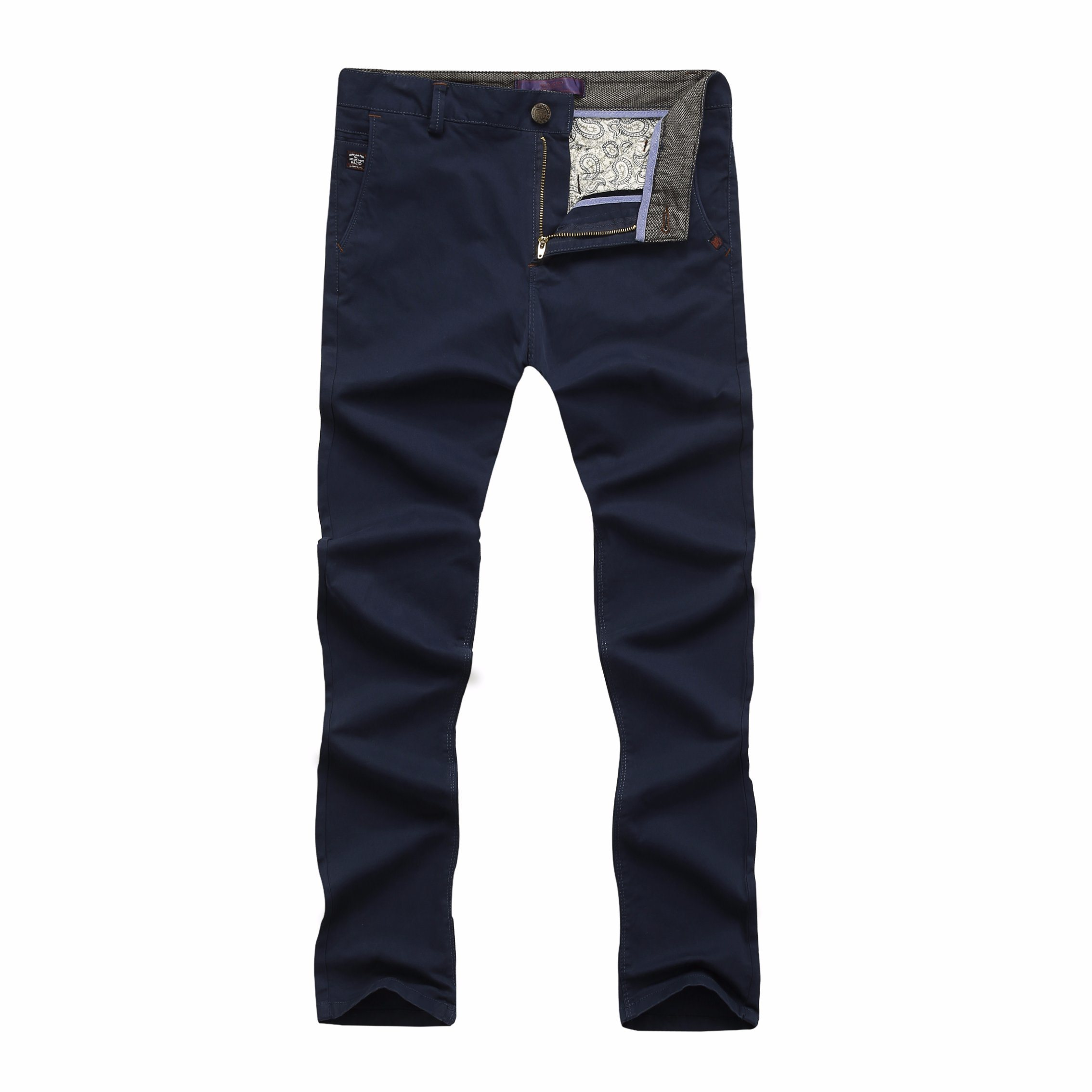 Men Cotton Fashion High Quality Casual Long Pants