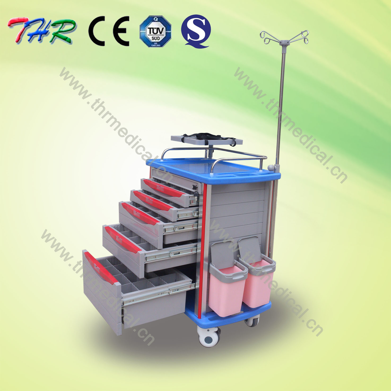Medical Multi-Function Emergency Cart (THR-ET-8500IA)