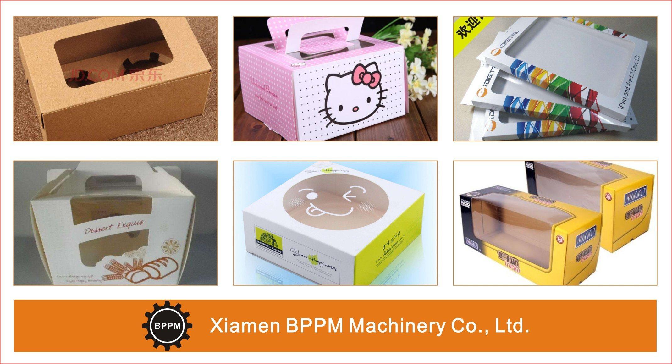 Carton Box Window Patching Machine, Window Pasting Machine