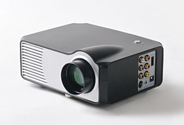 Portable Mini LED Projector With USB/SD Card (LED-2)