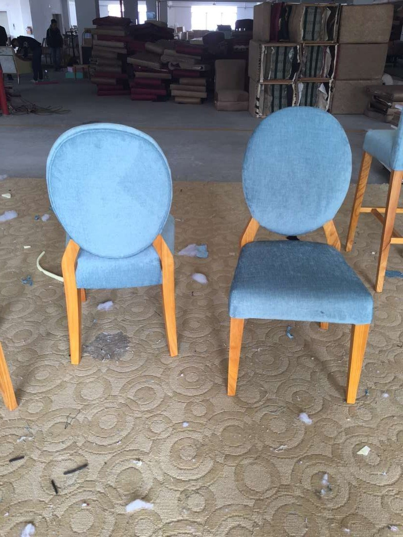 Chair/Foshan Hotel Furniture/Restaurant Chair/Hotel Chair/Solid Wood Frame Chair/Dining Chair (NCHC-010203)