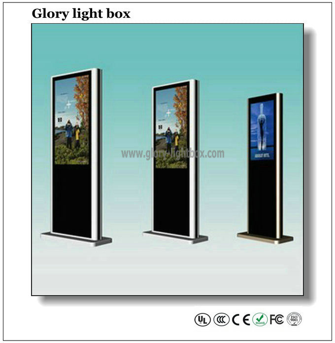 55′′ Digital Player USB/Network/IR Touch Model Advertising Signage