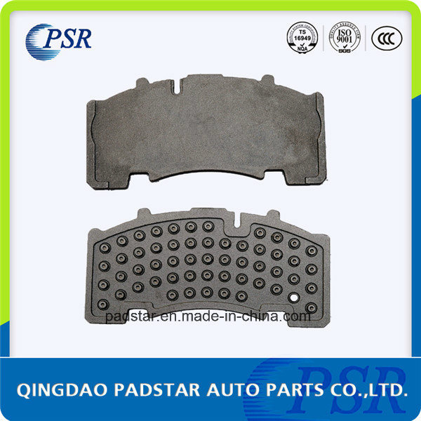 Heavy Duty Brake Pads Cast Iron Back Plate Supplier