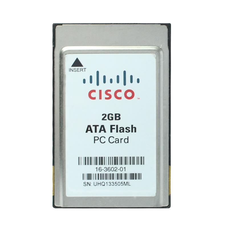 2g Cisco Memory Card PCMCIA Card Flash Memory Card 2GB ATA Flash PC Card