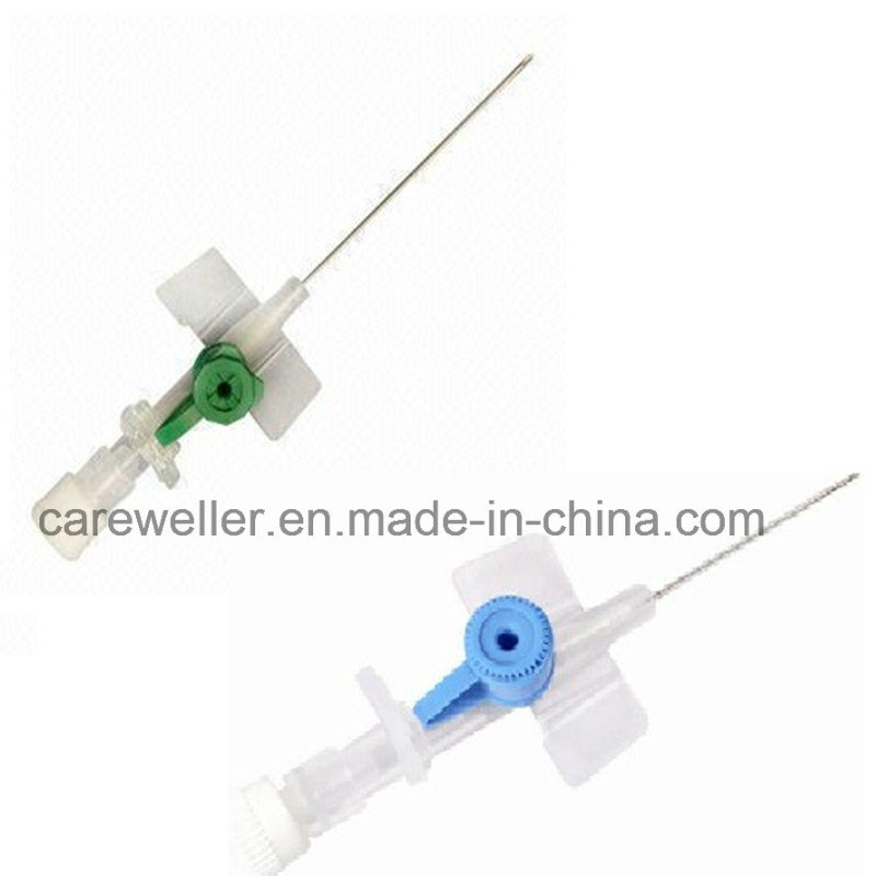 IV Cannula/Catheter with Wing Injection Port