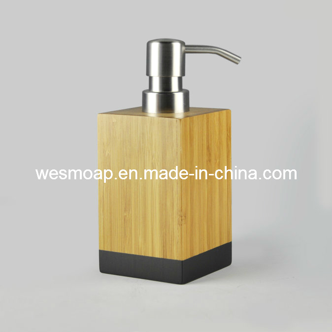 Carbonized Bamboo Bathroom Accessory with Black Edge (WBB0617A)