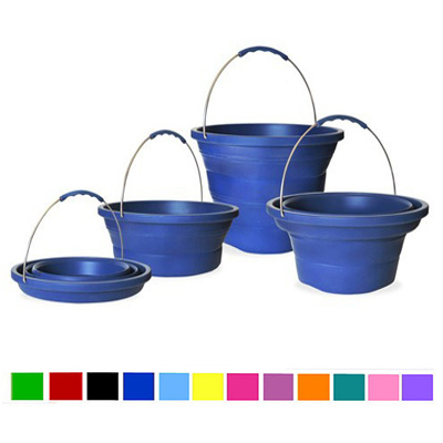 Silicone Bucket, Foldable Bucket, Folded Bucket