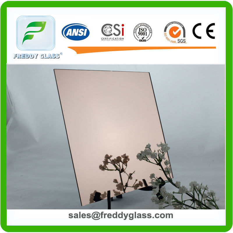 2-6mm Bathroom Mirrors with Silver Film and Double Coat