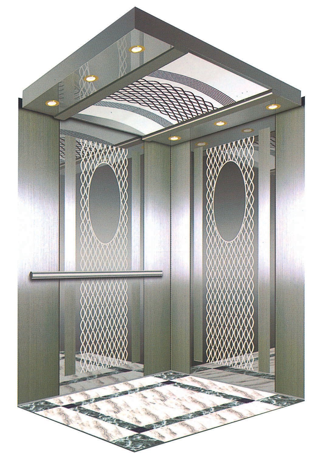 China Small Home Passenger Residential Elevator Lift