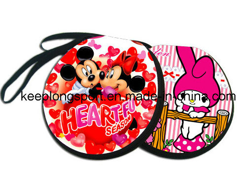 Fashionable Full Color Printing Customized Neoprene CD Case