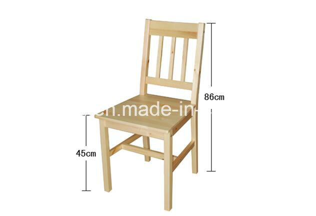 Pine Wood Dining Set with Modern Appearance