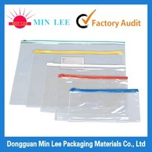 PE Printed Resealable Zipper Medical Plastic Packaging Bag (MD-Z-07)