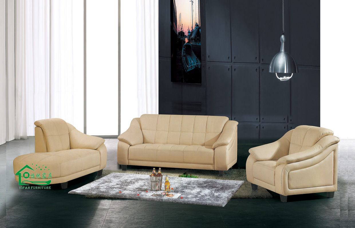 Leather sofa living room sofa yf a625