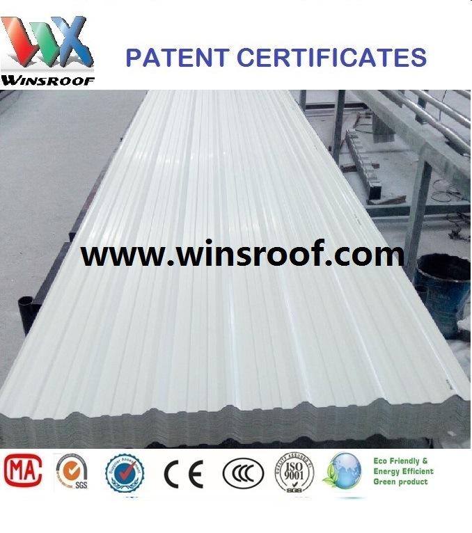 Wins Anti-Corrosive PVC Roof Tile