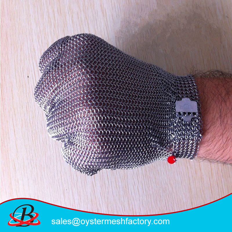 Cut Resistance Stainless Steel 304L Safety Gloves