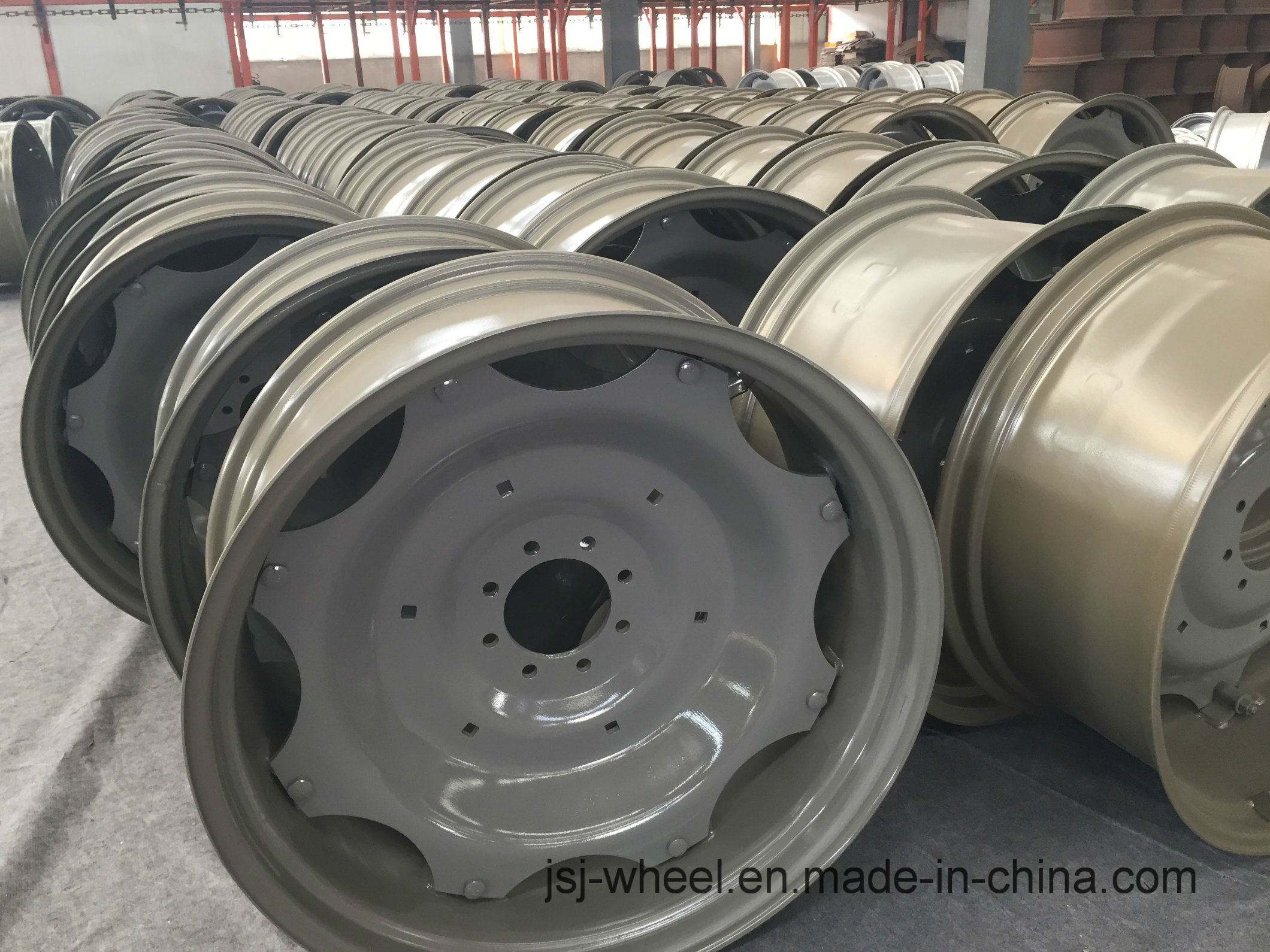 Wheel Rims for Tractor/Harvest/Machineshop Truck/Irrigation System-16