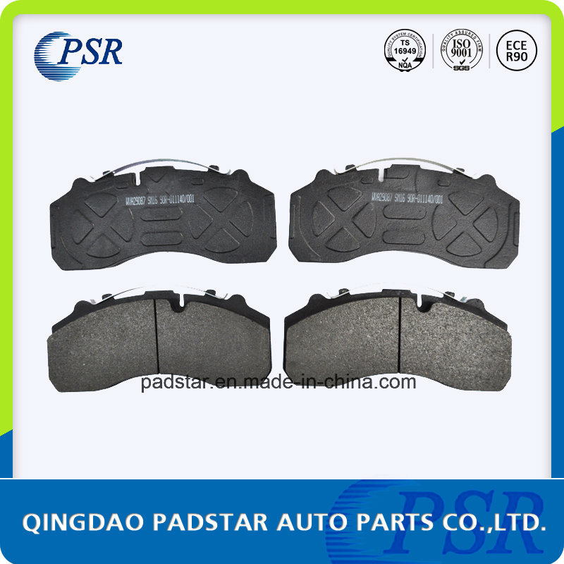 China Manufacturer High Quality Semi-Metallic Truck Brake Pad