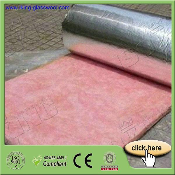 Reinforced Aluminum Foil Faced Glass Wool