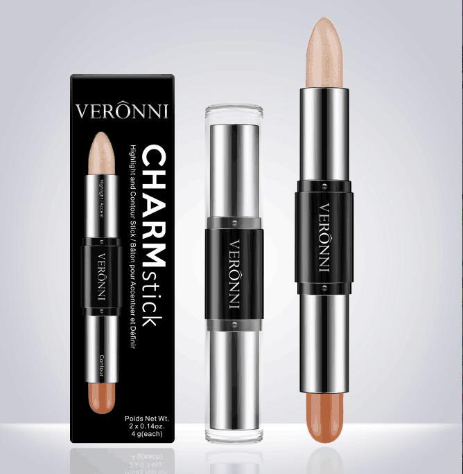 Star Brand Veronni 8 Colors Charm Stick Highlight and Contour Stick Makeup Concealer Stick